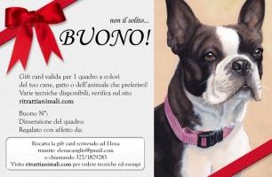 Gift Card per amanti dei cani