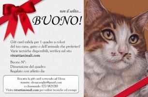 Gift Card per amanti dei gatti